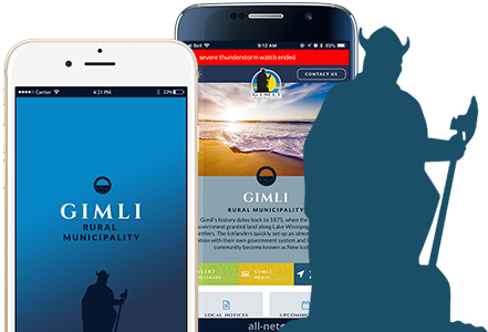 Download our Gimli Mobile App Today!
